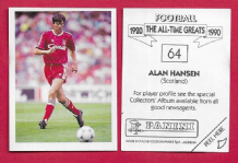 Scotland Alan Hansen Liverpool 64